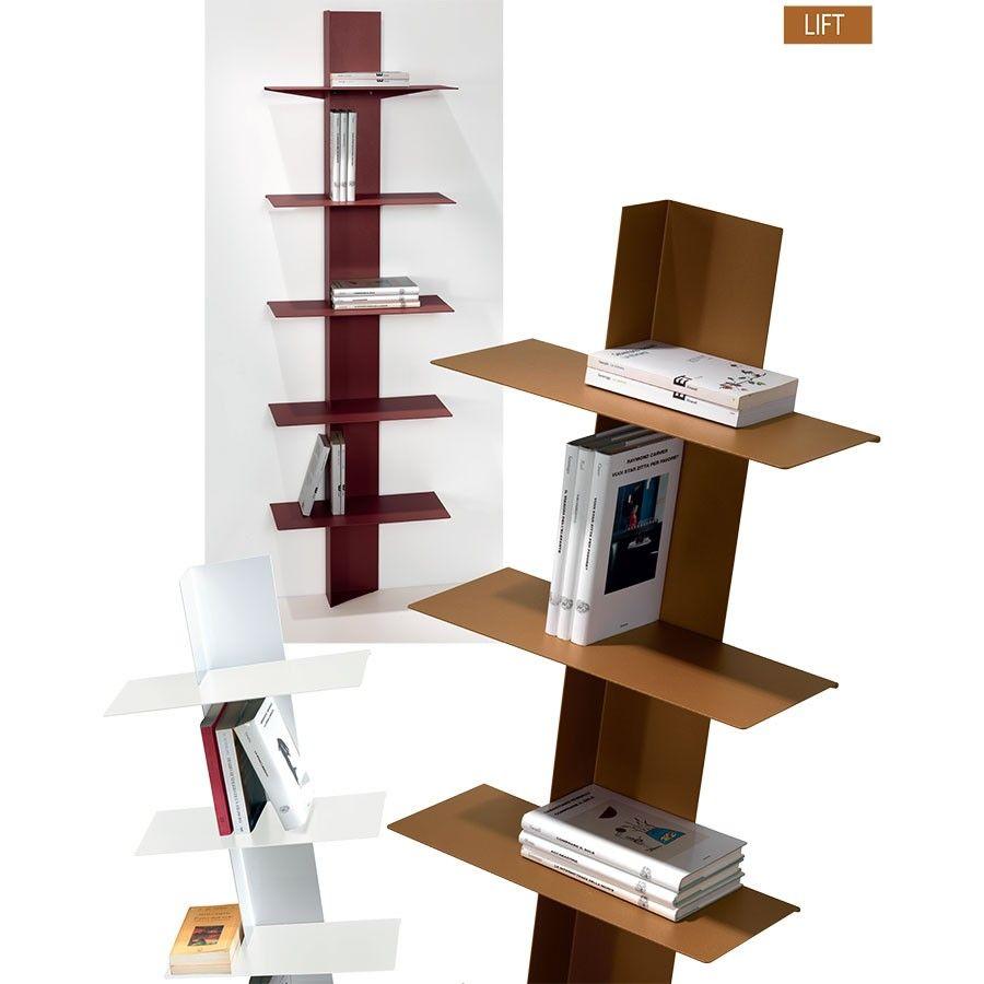 Libreria da parete verticale Lift
