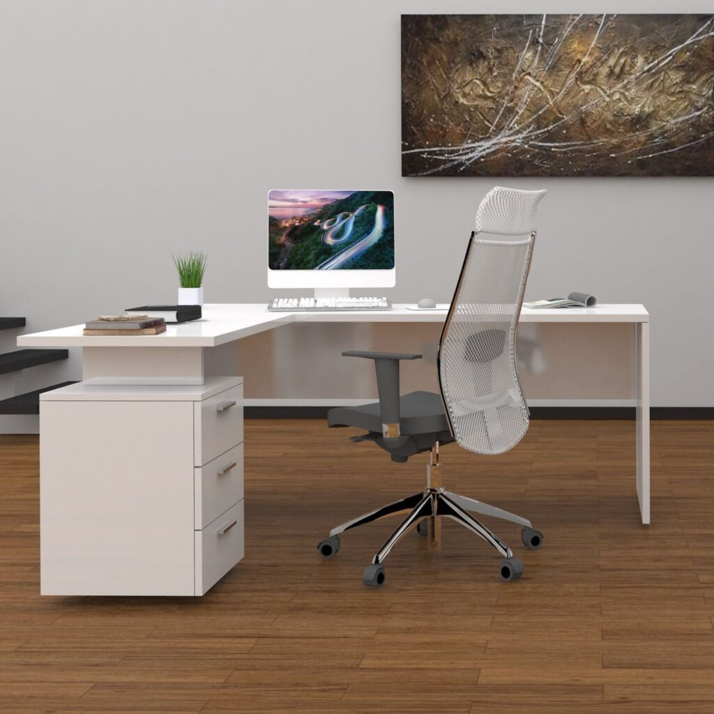scrivania angolare Naomi