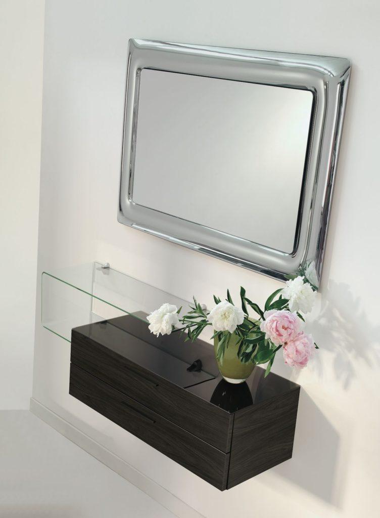Consolle Mensola e Specchio per arredare un ingresso