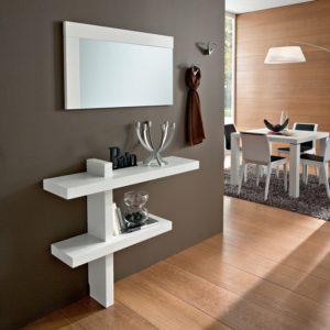 Come arredare un ingresso piccolo: Consolle Specchio e Appendiabiti