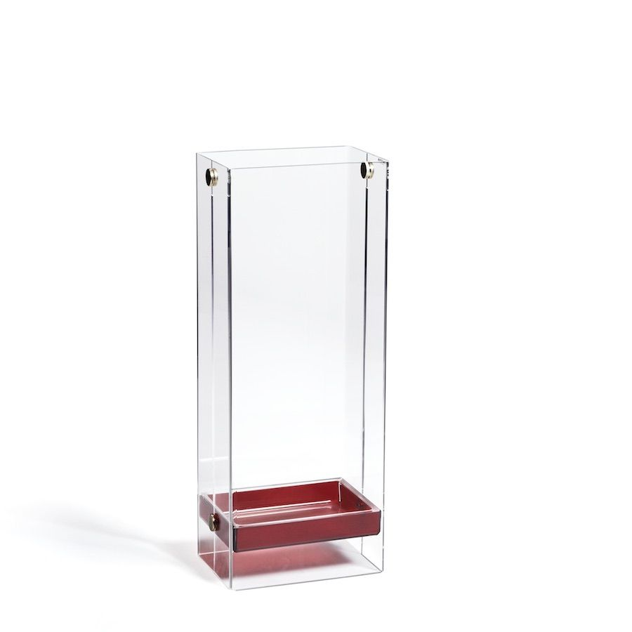 Portaombrelli in plexiglass da ingresso