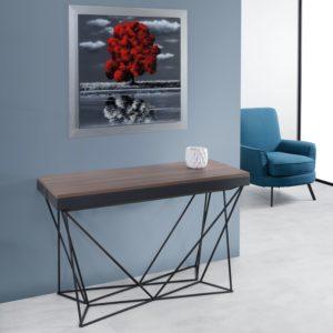 Mobili trasformabili salvaspazio: tavolo consolle allungabile Excel 2