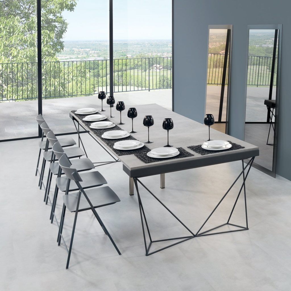 Mobili multiuso: tavolo consolle allungabile Excel 2
