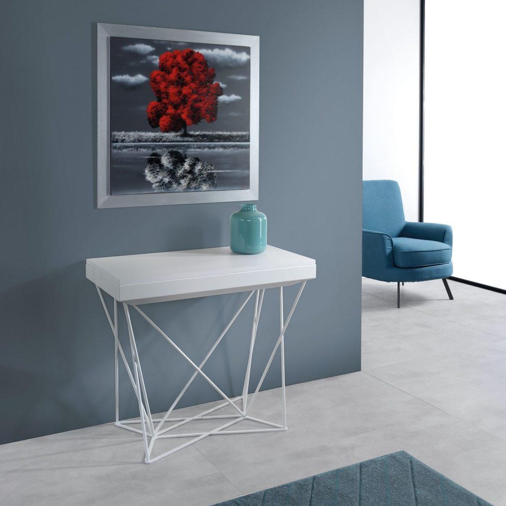 Mobili multiuso: tavolo consolle allungabile Excel