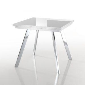 Tavolo quadrato allungabile Dabol chiuso