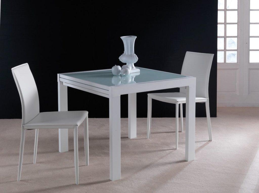 Tavolo quadrato allungabile Conrado