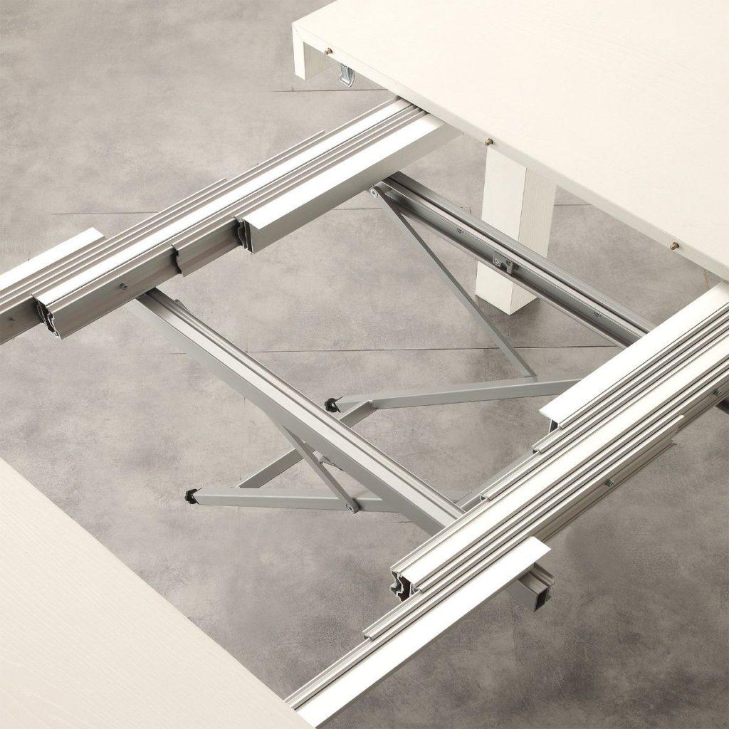Tavolo quadrato allungabile Lillestrom dettaglio