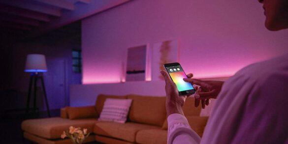 Lo smart lighting valorizza il design degli arredamenti