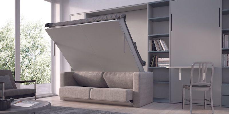 Letto salvaspazio: ottimizza la casa con design!