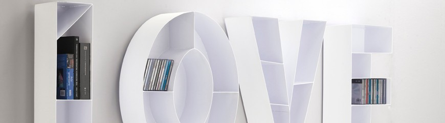 Porta CD DVD: design moderno a colonna o da parete - Smart Arredo ...