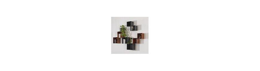 Librerie moderne autoportanti da parete in legno o metallo - Librerie da camera ...