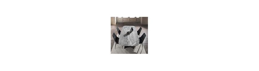 vendita online tavoli da pranzo moderni in legno, metallo o vetro - Design Soggiorno Pranzo 2