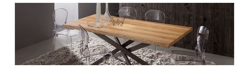 Tavoli da pranzo allungabili in legno smart arredo design - Tavoli in legno moderni ...