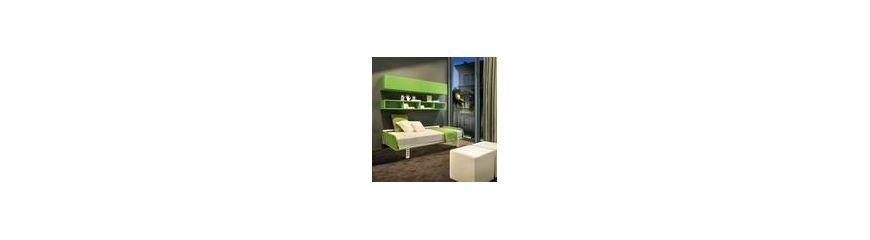 Mobili letto a scomparsa da parete design moderno smart - Mobili a scomparsa per monolocali ...