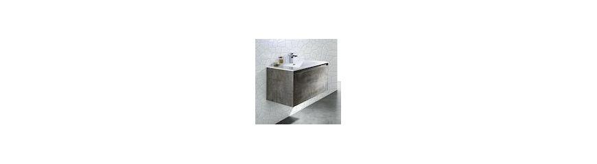 Composizioni arredo bagno completo lavabi mobili - Mobili moderni per bagno ...