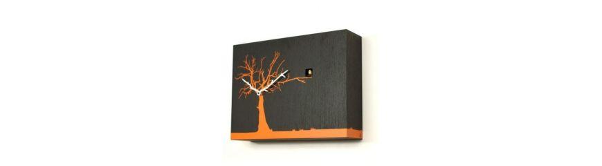 Orologi da parete dal design moderno in legno metallo - Orologi per casa ...
