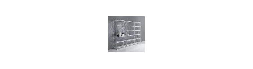 Scaffali e scaffalature metalliche componibili per uffici for Librerie in legno componibili