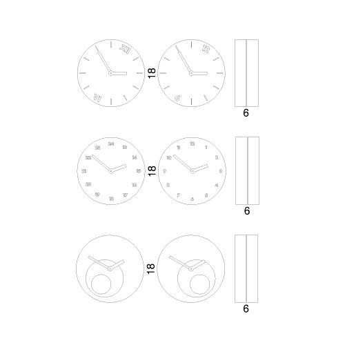 Orologio Tempoinstabile misure