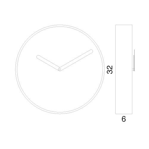 Orologio da parete Be misure