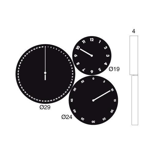 H:M:S: orologio a parete