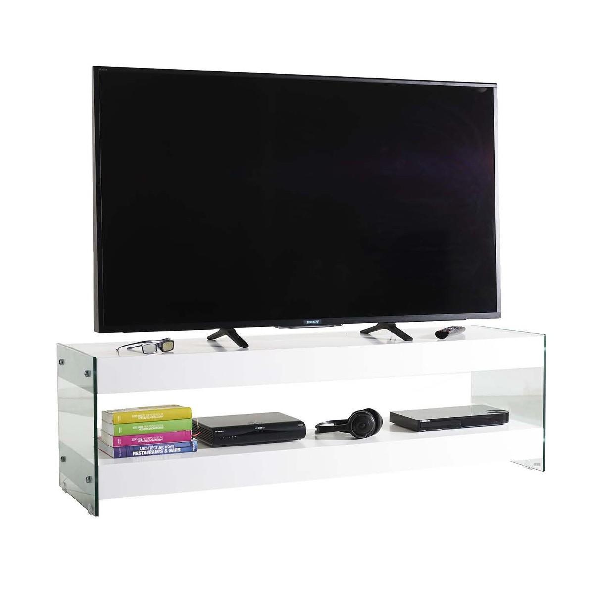 Porta TV fisso in legno Dapper