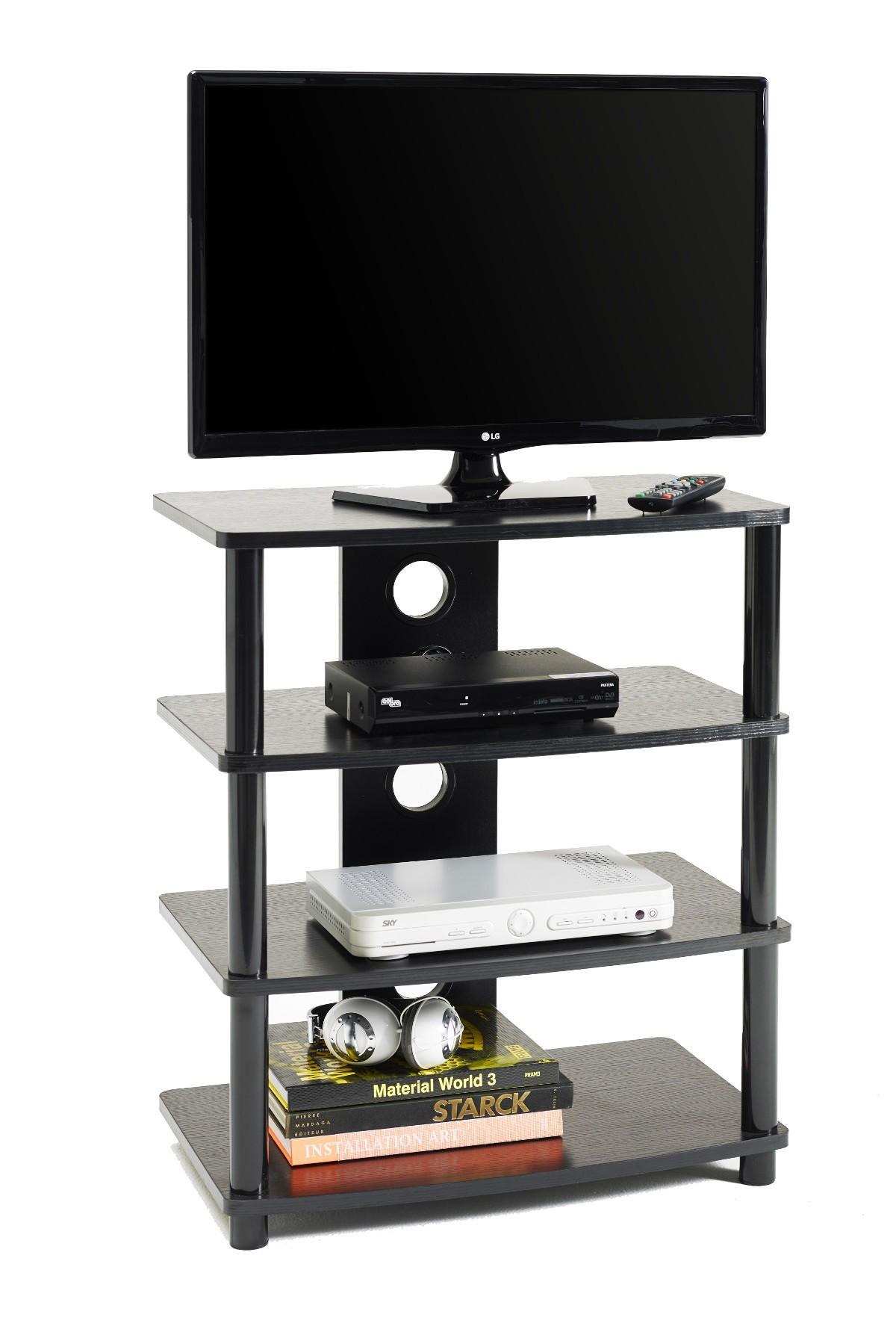 Porta TV fisso a 4 ripiani M2001L