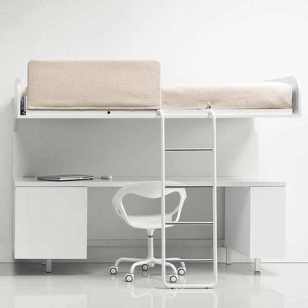Letti a scomparsa design moderno ottimizza gli spazi for Scrivania a scomparsa a parete