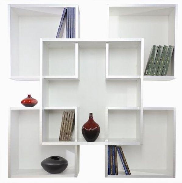 Le librerie moderne da parete in legno Altus Mobili
