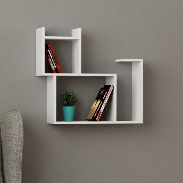 Libreria da parete a forma di gatto Baffo