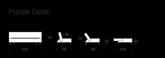 Dimensioni Puzzle Cubic