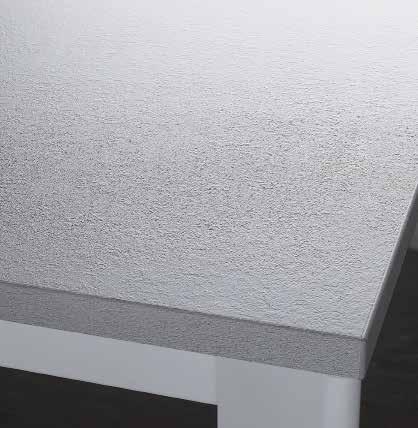 Bianco pietra finitura antigraffio - laminato HPL