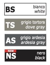 Colori libreria verticale Libra