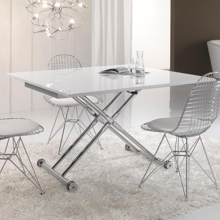 Tavolino trasformabile basso Morfosi