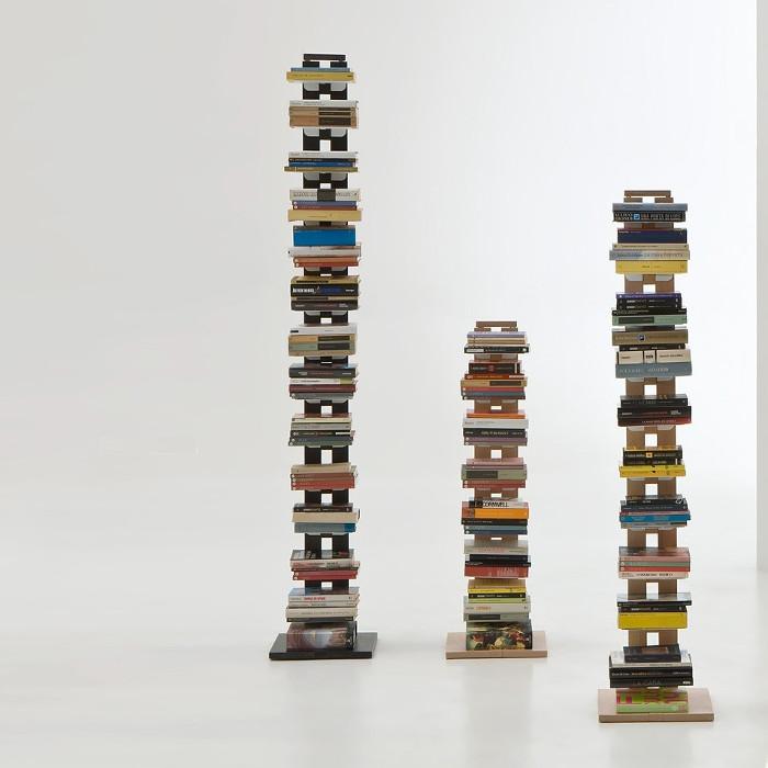 Librerie a colonna di design da terra o da parete