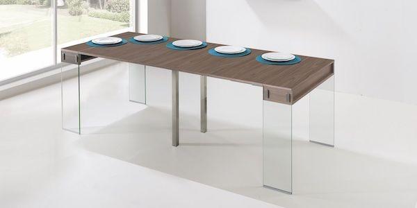 Tavolo Consolle Con Sedie Pieghevoli.Consolle Allungabili E Trasformabili Con Sedie E Prolunghe