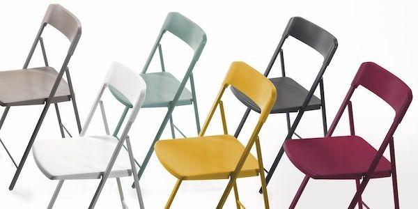 Sedie Pieghevoli Plastica Economiche.Sedie Pieghevoli Design Moderno Soluzioni Salvaspazio