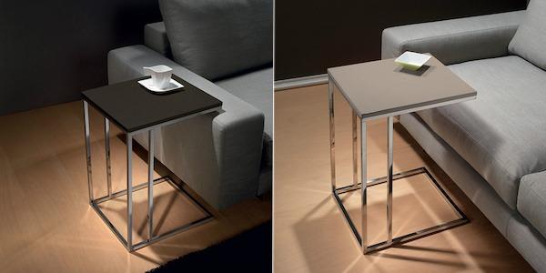 Poco spazio in salotto prova un tavolino lato divano - Tavolini da divano ...