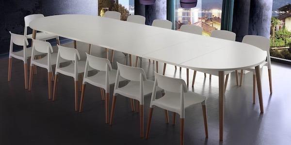 Tavoli Allungabili Moderni : Tavoli allungabili moderni outlet finest sconto tavolo