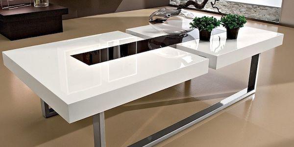 Tavolini da salotto in vetro moderni for Tavolini vetro