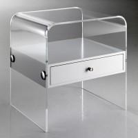 Comodini in plexiglass moderni